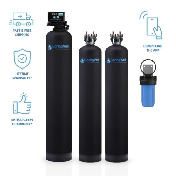 ULTRA Whole House Well Water Filter Salt-Free System Combo